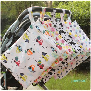 Baby Diaper Bag Waterproof Nappy Stacker Maternity Wet Dry Bags Mommy Storage Stroller Accessories Diaper Changing Kits CCA11833-A 60pcs