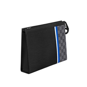 Women Men's Luxurys Designers Bags 2021 Clutches, Mobile Phone Bags, Clips, Easy to Store, Atmospheric, Simple, High Quality, Wholesale, Anti-counterfeit Logo, Dust Bag