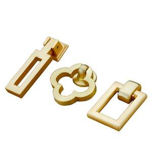 Handles & Pulls Big Home Goods High Grade Gold Door Handle Chinese Style Zinc Alloy Bedroom Cabinet Decorative Furniture Hardware Knobs