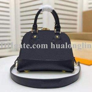 Women Handbag Leather bag shell shoulder cross body flower serial number date code fashion purse