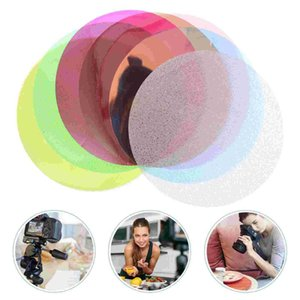Lamp Covers & Shades 8pcs Light Color Sheet Shooting Film Video Po Filter (Random Color)