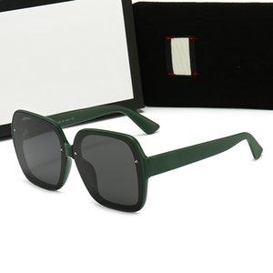 Square Sunglasses Women 2021 Vintage Brand Oversize Women's Sun Glasses Black mens
