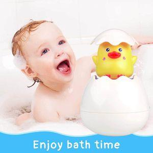 Baby Bathroom Cartoon Duck Spray Bath Toy Children Summer Indoor Swimming Water Spray Water Educational Toy L0323
