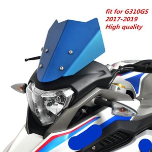 Motorcycle WindScreen Windshield Viser VIsor Fits For G310GS G310 GS 2021 17'-19' Double Bubble Screen