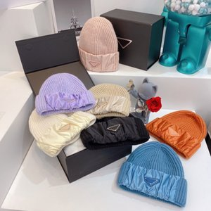Beanie Cold Proof Fashion Skull Caps Warm Autumn Winter Ball Cap Breathable Fitted Bucket Hat 7 Color Top Quality