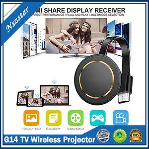 G14 TV Stick Miracast 5G Wireless Screen Projector Wifi Mirascreen Dongle Ezcast 4k For Youtube Google Chromecast