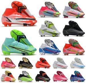 2021 Superfly 8 VIII 360 النخبة FG Soccer Shoes XIV اليعسوب CR7 رونالدو الدافع حزمة MDS 04 14 حلم السرعة 4 رجل النساء بنين أحذية كرة القدم المرئية US3-11