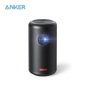 Anker Nebula Capsule Max, Pint-Sized Wi-Fi Mini 200 ANSI Lumen Portable Projector, 4-Hour Video Playtime