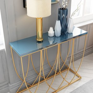 Fashionable Living Room Furniture Blue Stylish Beside Table Coffee-table Home