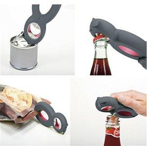 Multi ouvre, pot, bouteille, ouverture de canette, ouvre-sac, couvercle Twist Off EZ Seal Gripper, ouvre-bouchon de bouteille de soda Multi couvercle Désactivé Aide les personnes âgées 196 V2
