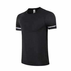 Homens de verão negro t - shirts camisas de algodão cor sólida manga curta tops fino respirável homens streetwear masculino Tees tamanho 6xl roupas