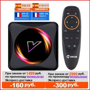 Android 11 Smart TV Box Android 10 4G 64GB Rockchip RK3318 Wifi 1080p 4K Youtube Media player Android TVBOX Set Top Box
