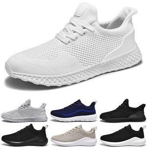 men chaussure running shoes white mesh sneakers breathable outdoor fashion soft jogging walking tennis shoe chaussures de course sport