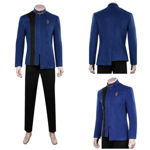 Star Trek: Discovery Season 4 Cosplay Costume Blue Uniform Outfits Full Set