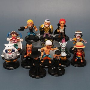 5CM Q version of 12 Piece King hand Luffy red hair Bucky moon Molia Luci car ornaments