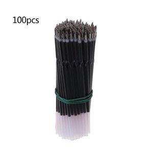Ballpoint Pens 100Pcs 0.7mm Pen Refill Black Blue Red Stationery School Office Supply