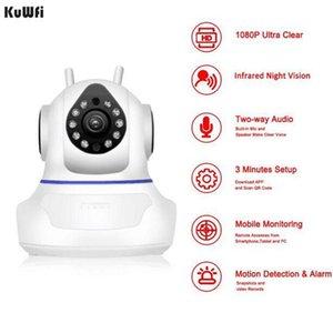 Kuwfi Baby Monitor Bebek Telsizi 1080P WiFi Домашняя камера Наблюдание в Wi-Fi Беспроводной Night Vision CCTV IP Cameras