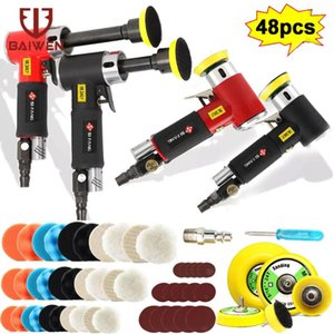 Pneumatic Tools 2 3 Inch Long Straight Core Grinding Machine Mini Air Sander Car Polisher With Polishing Discs For Auto Body Work