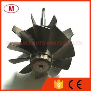 HX40 67 76mm 67X76mm 10 blades Turbocharger journal bearing Turbine shaft&wheel Turbo wheel turbo shaft for Turbo Cartridge CHRA Core