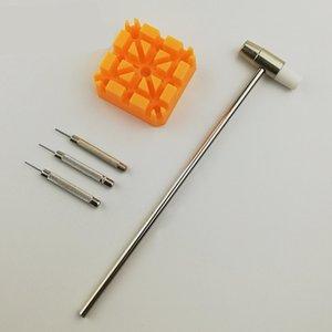팔찌 링크 복구 리무버 도구 망치 펀치 핀 스트랩 홀더 키트 미터 액세서리 도구
