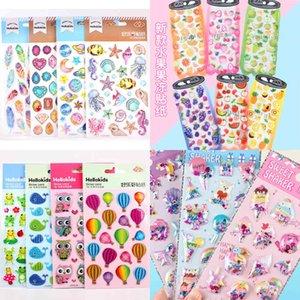 Cartoon Stickers Children's Hand Account Love Crystal Decorative Reward Bubbles 9L9E723