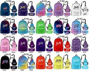 3d Runtz 3pcs set Lady Infantry Pack Royal Backpacks Girl Blue Shoulder Bags Outdoor Shoulderbags Waterproof Pen Bag qylaYd