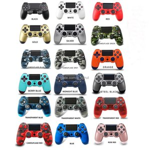 PS4 Wireless Controller Joystick Shock Console Controllers Colorful Bluetooth gamepad for Sony Playstation Play station 4 Vibration with Retail Box