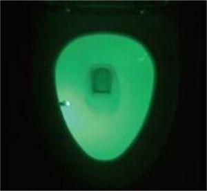 Olorful Motion Sensor Toilette Nachtlicht, Haus Badezimmer Menschliches Körper Auto Bewegung Aktivierter Sensor Toilette Sitzbeleuchtung Lampe 8-farbe 187 v2