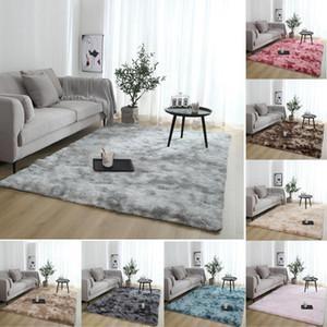 Carpets Large Fluffy Rugs Anti Skid Shaggy Area Rug Velvet Dining Room Home Bedroom Floor Mat