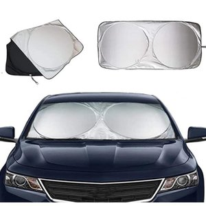 Car Sunshade UV Protect Windshield Cover Front Rear Window Film Visor Car-styling High Quality