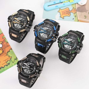 Fashion sports style children's electronic watch men's and women's showing date time Watch Gift