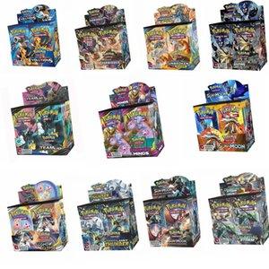 Poket Monster flash cards original 100pcs MEGA EX MEGA GX UB GX 100pcs MEGA EX