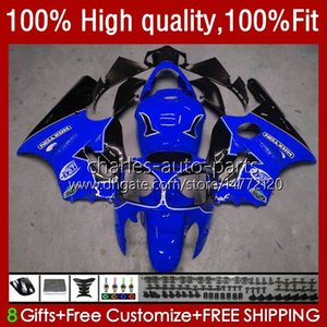 Injection OEM For KAWASAKI NINJA ZX-12R ZX 12R 1200CC 1200 CC 02-06 Body 3No.139 ZX1200 ZX 12 R ZX12R 2002 2003 2004 2005 2006 ZX1200C 02 03 04 05 06 ABS Fairing glossy blue