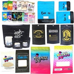Borsa da runtz ridacchia borse con cerniera collegate Jungle Boys Garrison Lane Pacchetto Alien Labs Pacchetto imballaggio DHL gratuito