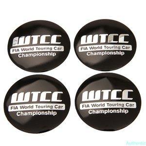 56.5mm Car Wheel Hub Cap Stickers for WTCC Logo Tire Center Emblem Badge for Hyundai Citroen Chevrolet Audi A3 Mazda Car Styling