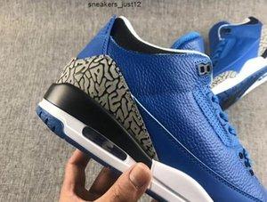 Ucuz Satın Al III İşbirliği Khaled Tasarımcı Basketbol Ayakkabı Başka 3 S Moda Mavi Biz Biz En İyi Sneakers En Kaliteli