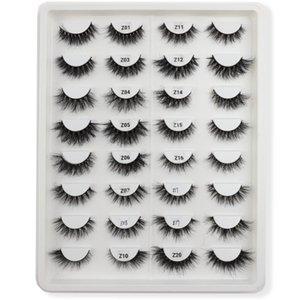 False Eyelashes TDANCE 13mm-20mm Short Fluffy Lashes Messy Mink Lash Natural Strip Makeup Reusable Wholesale Eyelash Cils