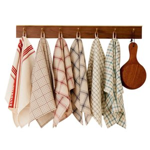 Table Napkin MCAO American Pastoral Style Linen Cotton Dinner Placemat Cafe Kitchen Accessories 1pcs TJH0011