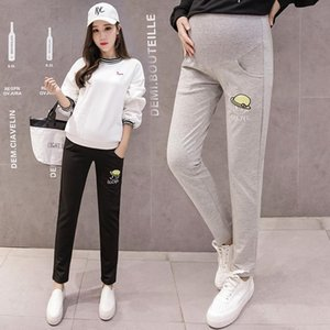 Maternity Bottoms Spring Women Pants High Elastic Loose Pregnant Trousers Clothes For Autumn Clothing