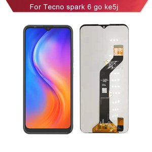For Tecno spark 6 go KE5 ke5j LCD Display Complete Cell Phone Touch Panels with Screen Assembly