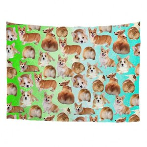 Blinds Cats Dogs Designs Printing Tapestry Bedding Dorm Decor
