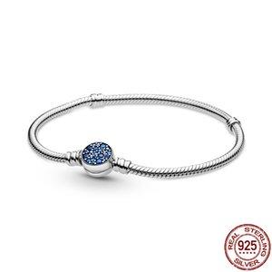 Bracelet de charme de mode codemonkey authentique 100% 925 Bangle de chaîne de serpent classique pour femmes Sterling Silver Bijoux Bracelets N1