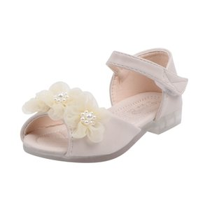 Arloneet 2020 Sommerschuhe Baby Mädchen Sandalen Mädchen Kleinkind Kinder Sandalen Weiche rutschfeste Kinder Prinzessin Party Schuhe W0108