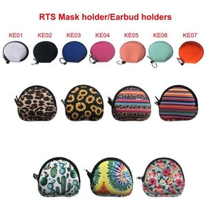 Neoprene mask bags earphone bag storage bag outdoor travel mobile phone charging cable earphone storage bag XD24585