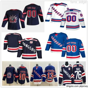 Hombres personalizados Mujeres Niños New York Rangers Brian Leetch Filip Chytil Igor Shesterkin Jack Johnson Jacob Trouba Jonny Brodzinski Hockey Jerseys