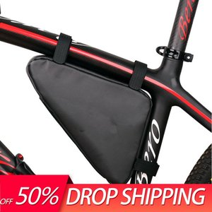 Cycling Bags Triangle Bike Bag Outdoor Black Waterproof For Bicycle Front Frame Mountain Convenient Tools Accessories