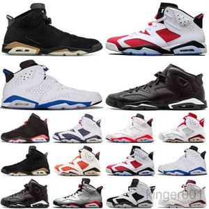 13S Koyu Mocha Erkekler Basketbollar Ayakkabı 25th Yıldönümü Tavşan 6 S Bio Hack 11s UNC Tinker Siyah Kızılötesi Kaktüs Jack Kadın Sneakers GT9F