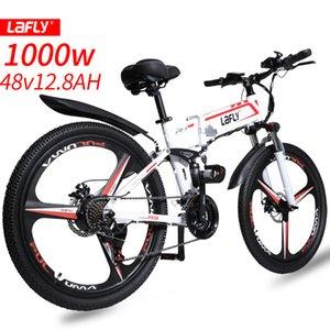 LAFLY X-2 (EU Stock) Electric bike 48V12.8A eBike Aluminum 250W Motor 500W 1000W Powerful electric Bicycle 55 Km h