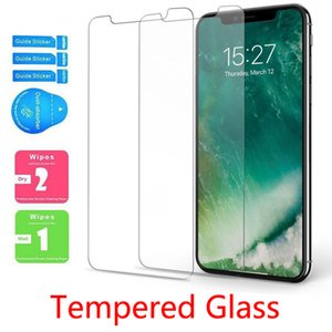 cell phone screen protector for Samsung A71 A20 A30 A50 A70 A10E Tempered Glass for iPhone 11 PRO MAX 8 8 PLUS SE without Package