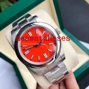 Reloj masculino Mecánico Mecánico Mecánico de alta calidad 2813 Movimiento 316 Acero fino Súper luminoso diseñador de relojes